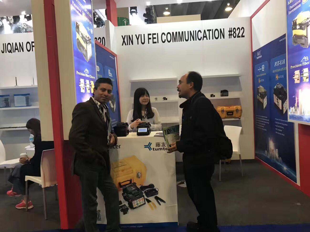2018 DATA NET fair in Mexico