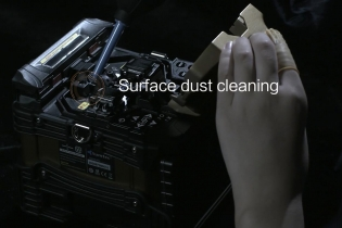 Daily maintenance of fusion splicer