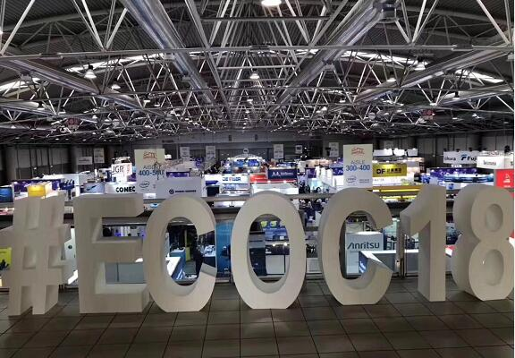 ECOC 2018 - European professional optical fiber exhibition
