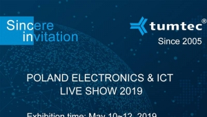 TUMTEC meets you at the 2019 Poland International Communication Show (Poland ICT