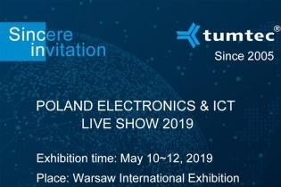TUMTEC meets you at the 2019 Poland International Communication Show (Poland ICT