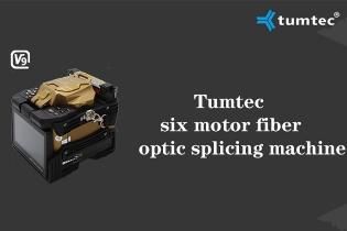 Long-distance Backbone Six Motors Splicing Machine V9