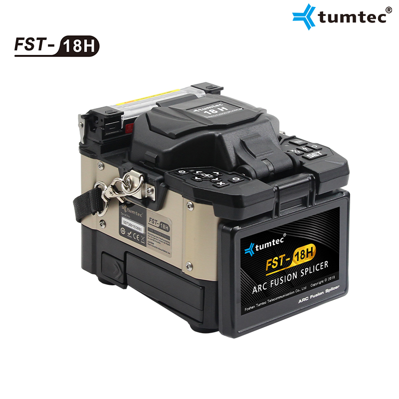 FTTx Active Cladding Alignment Fusion Splicer 18H