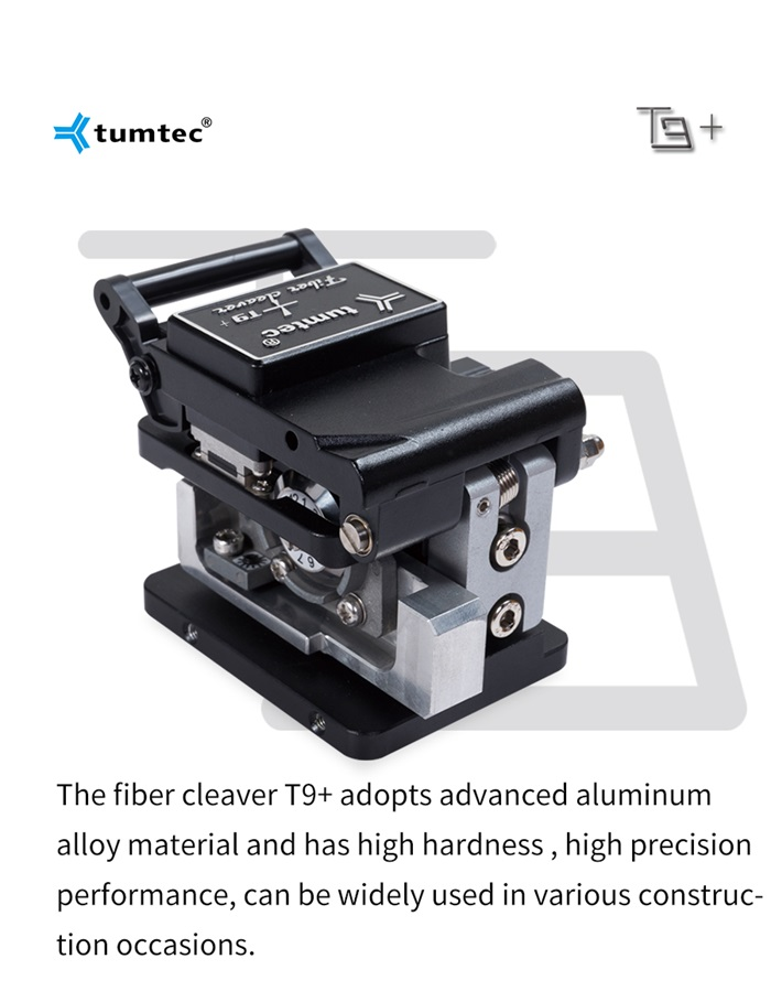 Fiber cleaver T9+