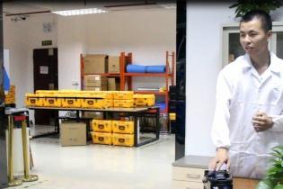 【 video 】 Tumtec fiber fusion machine anti-drop test