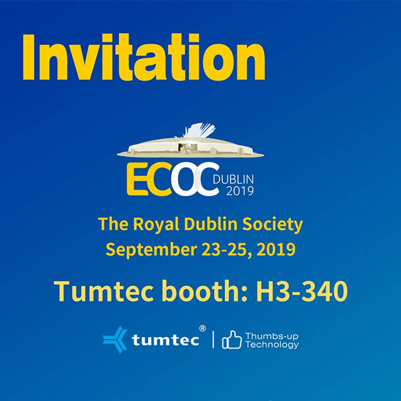 You have an invitation from the European exhibition!