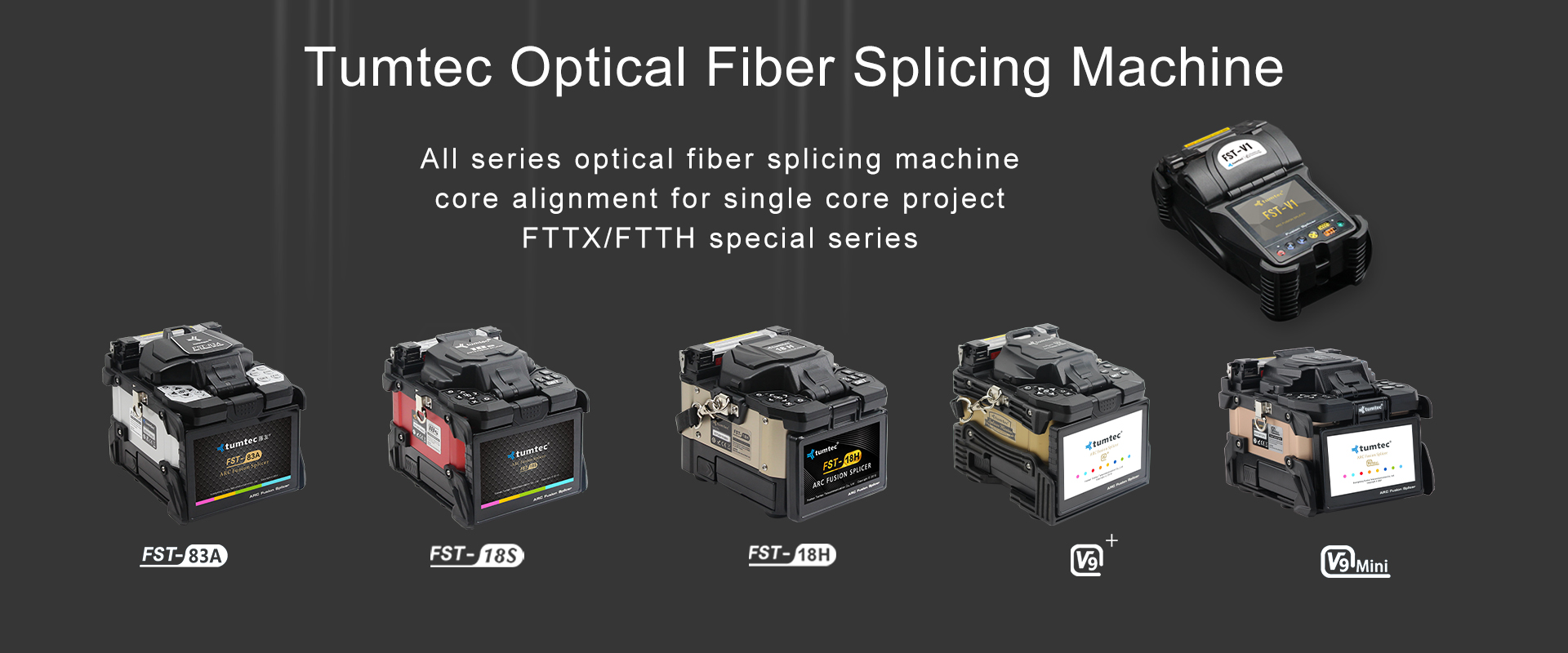 Tumtec Optical Fiber Splicing Machine