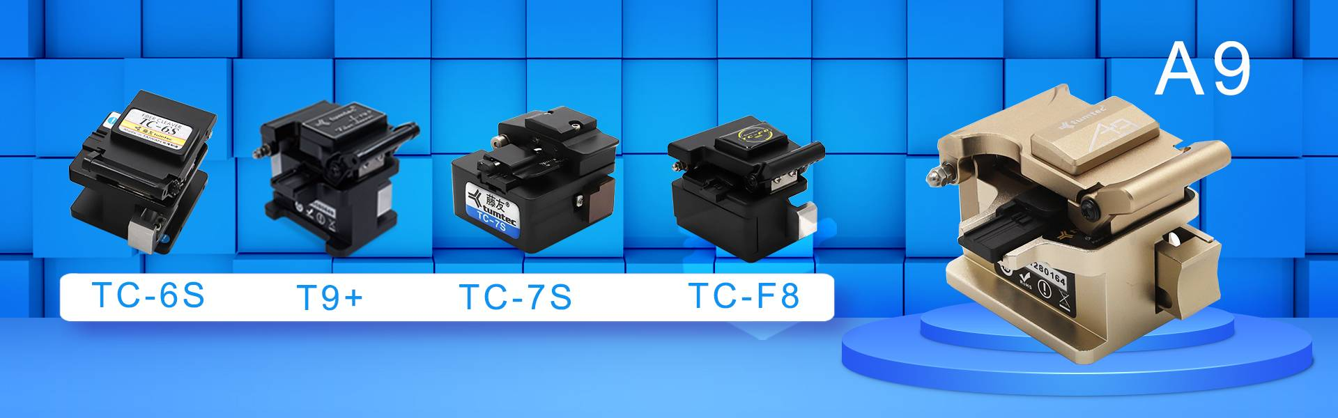 Tumtec optical fiber cleaver